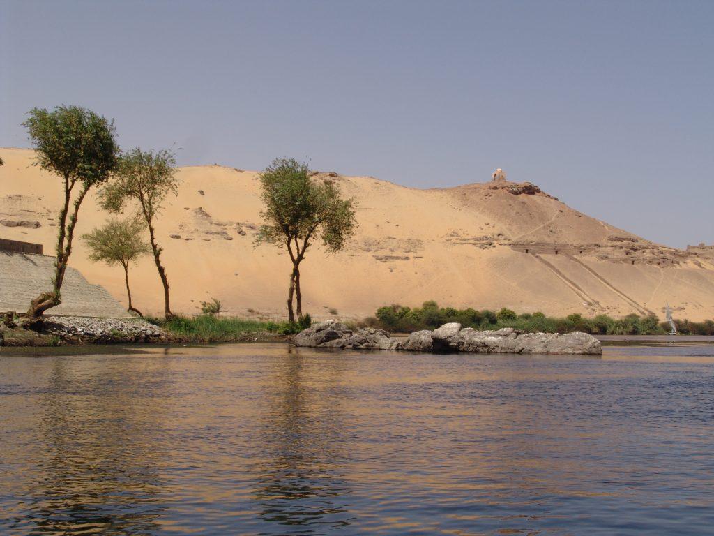 Ausflug von sahl hasheesh nach Luxor mit dem Bus