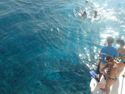 Ausflug mit dem Boot zur Paradies Insel