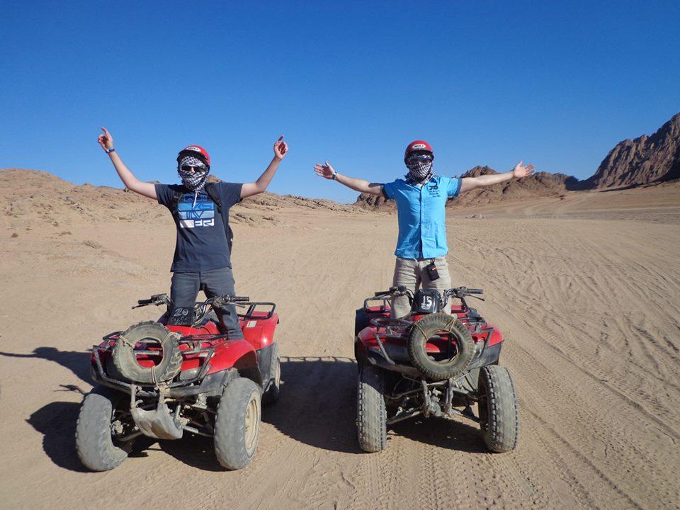 Quad Safari fahren in die Wüste von Sharm El Sheikh