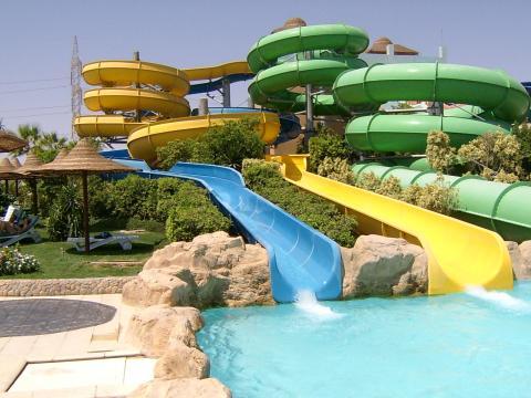 Ein Tag im Wasserpark - Aqua Blu Sharm Sharm El Sheikh