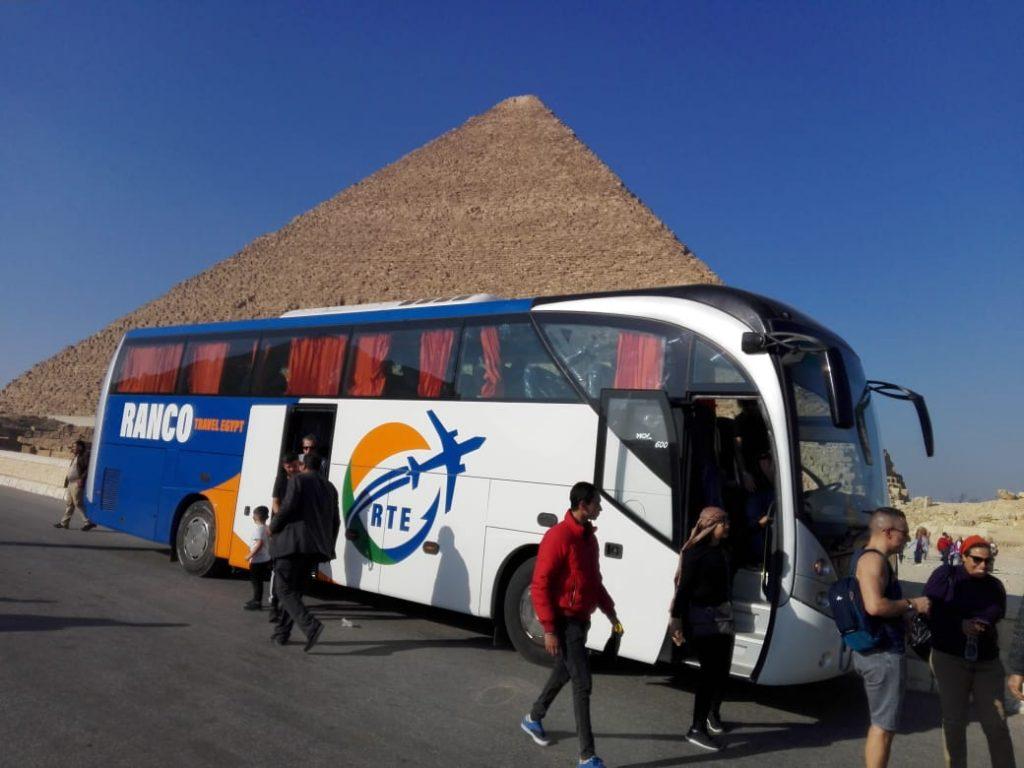 Ausflug von Hurghada nach Kairo mit dem Bus