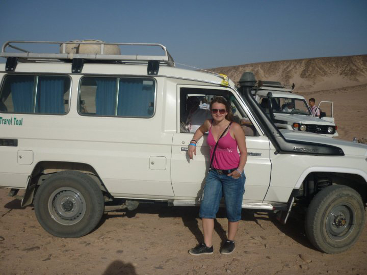 Jeep Safari zur Blue Hole ab Sharm el Sheikh